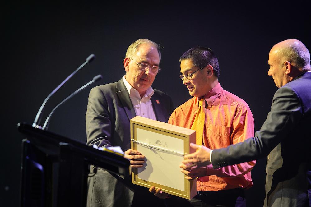 WELLINGTON, NEW ZEALAND - July 06: Deloitte IPANZ Public Sector Excellence Awards 2016 July 06, 2016 in Wellington, New Zealand. (Photo by Mark Tantrum/ http://marktantrum.com)
