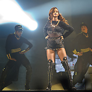 WASHINGTON, DC - April 29th  2013 -  Seven time Grammy Award-winning artist  Rihanna performs at the Verizon center in Washington, D.C. as part of her Diamonds World Tour. Rihanna has released seven albums since 2005, selling 30 million albums and 120 million singles worldwide. Her latest album, Unapologetic, was her first album to reach number one on the US Billboard 200. (Photo by Kyle Gustafson/For The Washington Post)