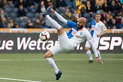 16.05.2019, Stade de Suisse, Bern, SUI, Super League, BSC Young Boys vs Grasshopper Club, 34. Runde, im Bild Arlindt Ajeti (GC) // during the Suisse Super League 34th round match between BSC Young Boys and Grasshopper Club at the Stade de Suisse in Bern, Switzerland on 2019/05/16. EXPA Pictures © 2019, PhotoCredit: EXPA/ Freshfocus/ Claudio de Capitani<br /> <br /> *****ATTENTION - for AUT, SLO, CRO, SRB, BIH, MAZ, ITA only*****