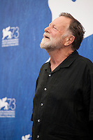 Actor Jack Thompson at The Light Between Oceans film photocall at the 73rd Venice Film Festival, Sala Grande on Thursday September 1st 2016, Venice Lido, Italy.