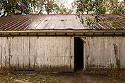 Old shed at Honey Horn Plantation on Hilton Head Island, SC