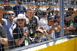 June 9, 2019 - Montreal, Canada - Motorsports: FIA Formula One World Championship 2019, Grand Prix of Canada, ..Fans  (Credit Image: © Hoch Zwei via ZUMA Wire)