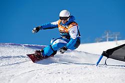 CODINA THOMATIS Carlos Javier, Banked Slalom, 2015 IPC Snowboarding World Championships, La Molina, Spain
