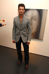 Model DAVID GANDY at a party to launch Glamotox held at 7 Dover Street, London on 21st November 2007.<br />