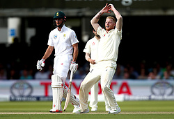 Ben Stokes of England looks frustrated while bowling - Mandatory by-line: Robbie Stephenson/JMP - 07/07/2017 - CRICKET - Lords - London, United Kingdom - England v South Africa - Investec Test Series