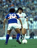 15.12.1985, Stadio Ferraris, Genova, Italy..Serie A, Sampdoria v SS Napoli..Diego Maradona - Napoli.©JUHA TAMMINEN