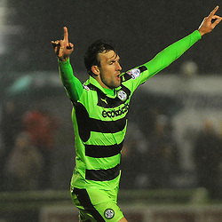 Forest Green Rovers v Crewe Alexandra
