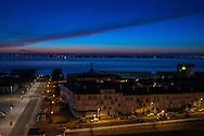 Saint Nazaire, 26/10/2014:  estuario della Loira nell'Oceano Atlantico - Loire estuary in the Atlantic Ocean