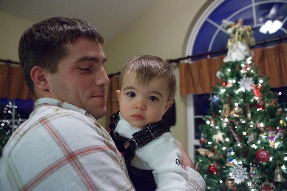Luca's 1st Birthday on Saturday December 15, 2012. (photo / Mat Boyle)