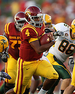 September 3, 2009: Iowa State quarterback Austen Arnaud (4) carries the ball during the first half of the Iowa State Cyclones' 34-17 win over the North Dakota State Bison at Jack Trice Stadium in Ames, Iowa on September 3, 2009.