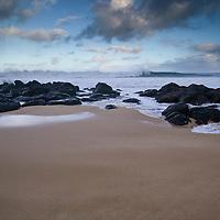 Beach on Oahu North Shore at Kawailoa