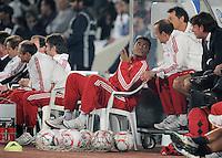 Fussball 1. Bundesliga  Saison   2010/2011   08.01.2011 FC Bayern Muenchen -  Al Wakrah Sport Club Breno (Mitte) nach seiner Auswechslung