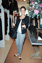 JULIA BAUMHOFF at a ladies lunch at Ralph Laren, Westbourne Grove, London W11 hosted by Too Many Women in Support of Breakthrough Breast Cancer on 4th October 2010.