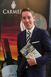 Repro Free: Ryan Tubridy pictured at The Little Museum of Dublin lecture series sponsored by Carmen Wines and Davy Stokebrokers.  The lecture, which was hosted by Ryan Tubridy and focused on JFK's visit to Ireland, was part of on-going series of lectures taking place at the museum in 2013. For more information visit www.littlemuseum.ie. Picture Andres Poveda
