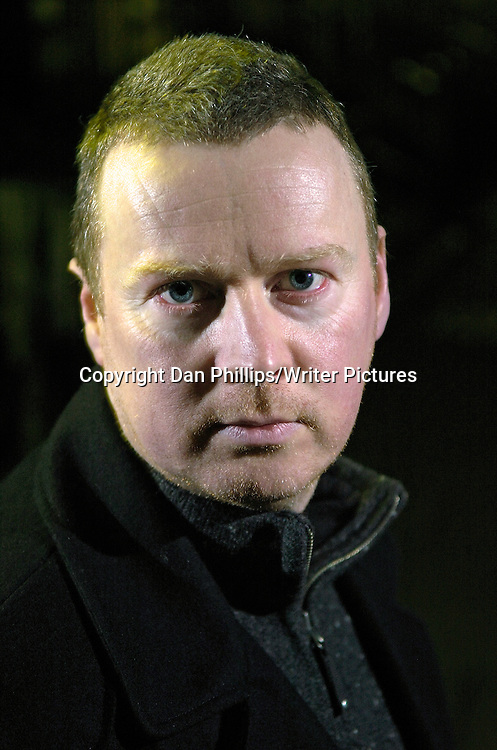 Crime Author Allan Guthrie<br /> <br /> copyright Dan Phillips/Writer Pictures<br /> contact +44 (0)20 822 41564<br /> info@writerpictures.com<br /> www.writerpictures.com