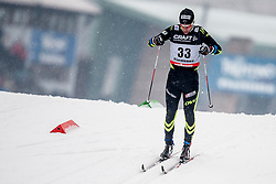 Ivan Perrillat Boiteux of France during mens 10km Classic individual start of the Tour de Ski 2014 of the FIS cross country World cup on January 4th, 2014 in Cross Country Centre Lago di Tesero, Val di Fiemme, Italy. (Photo by Urban Urbanc / Sportida)