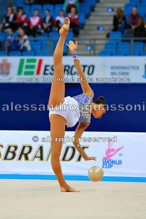 Diaz Carla is a Mexican rhythmic gymnastics athlete born in Mexico City in 1995.
