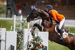 Hoogenraat Kim, NED, Caesar<br /> Young Riders European Championships Jumping <br /> Samorin 2017© Hippo Foto - Dirk Caremans<br /> 13/08/2017