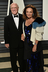 Celebrity arrivals at the Vanity Fair Oscar Party 2017 in Los Angeles, California. 26 Feb 2017 Pictured: Diane Von Furstenberg. Photo credit: BITSY / MEGA TheMegaAgency.com +1 888 505 6342