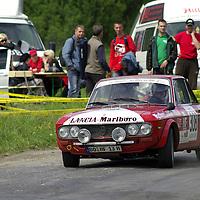 #308 Lancia Fulvia Coupe 1.3, Miskolc Rally Hungary 2008