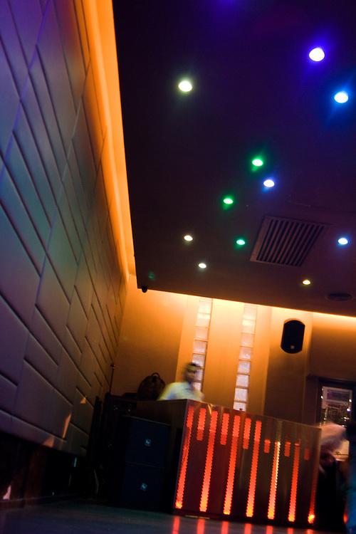 inside the popular club Frangipani, in Kuala Lumpur, Malaysia
