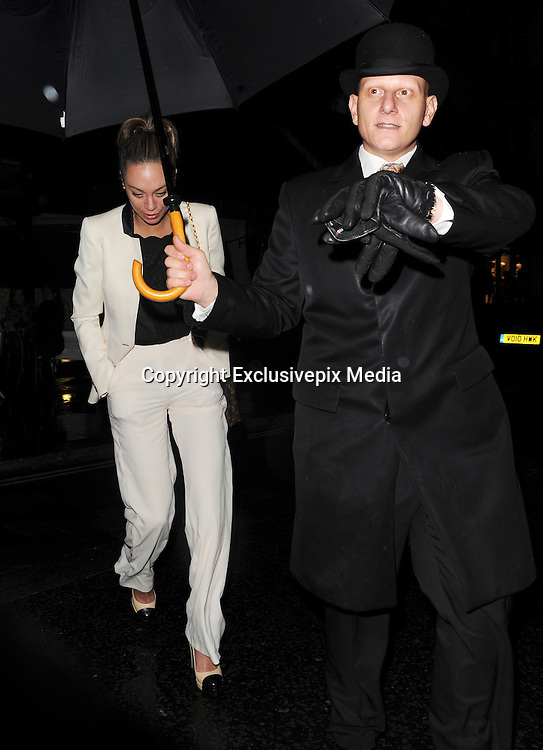 Exclusive<br /> Boris Becker out to dinner with lilly at Scotts in London<br /> &copy;Exclusivepix Media