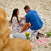Alex Bass Surprise Proposal Windansea 2019