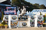 Monique van den Broek - Fasimos<br /> FEI WBFSH World Breeding Jumping Championships for Young Horses 2017<br /> © DigiShots