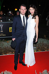 Mark Cavendish and Peta Todd during Night of Heroes: The Sun Military Awards held at the Imperial War Museum, London, England, December 6, 2012. Photo by Chris Joseph / i-Images.