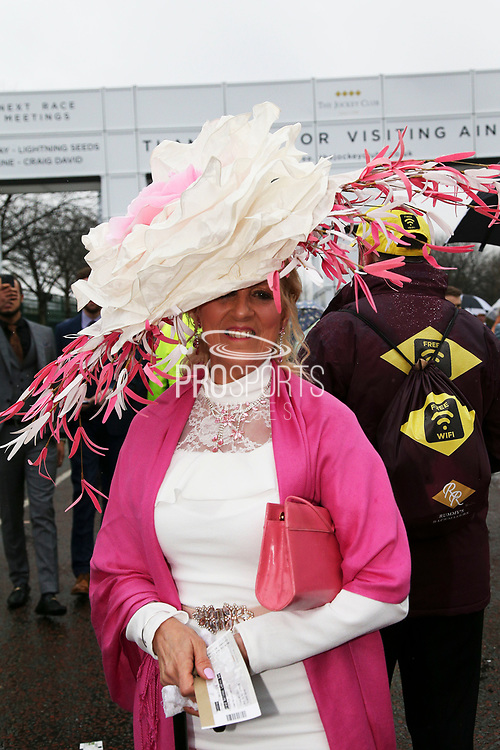Ladies Day at Aintree, Liverpool, United Kingdom on 13 April 2018. at Aintree, Liverpool, United Kingdom on 13 April 2018. Picture by Craig Galloway.