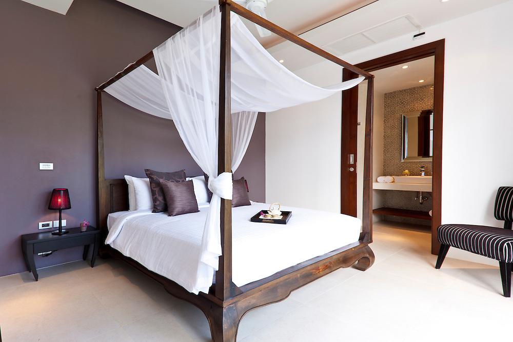 Double bedroom, Inasia Villa, Lipa Noi, Koh Samui, Thailand