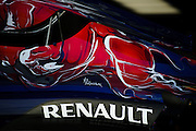 October 8, 2015: Russian GP 2015: Scuderia Toro Rosso engine cover