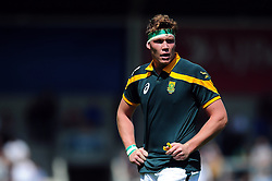 Cobus Wiese of South Africa U20 - Mandatory byline: Patrick Khachfe/JMP - 07966 386802 - 25/06/2016 - RUGBY UNION - AJ Bell Stadium - Manchester, England - Argentina U20 v South Africa U20 - World Rugby U20 Championship 2016 3rd Place Play-Off.