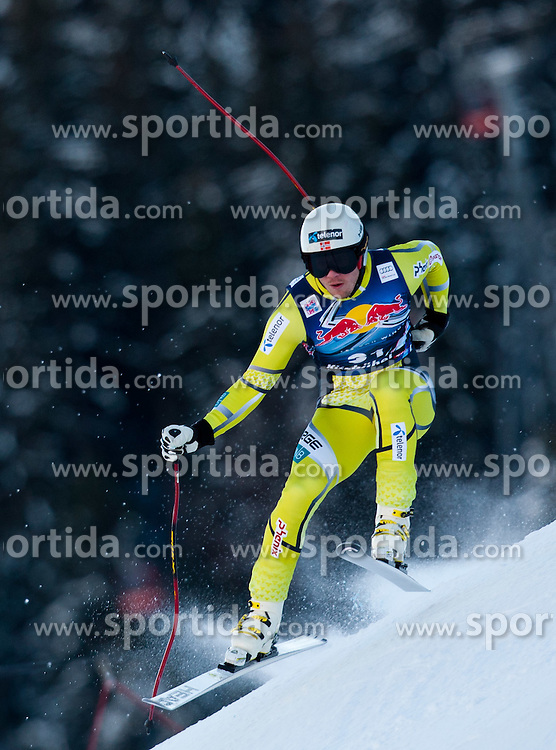 18.01.2012, Hahnenkamm, Kitzbuehel, AUT, FIS Weltcup Ski Alpin, 72. Hahnenkammrennen, Herren, Abfahrt 2. Training, im Bild Kjetil Jansrud (NOR) // Kjetil Jansrud of Norway during Downhill 2nd practice of 72th Hahnenkammrace of FIS Ski Alpine World Cup at 'Streif' course in Kitzbuhel, Austria on 2012/01/18. EXPA Pictures © 2012, PhotoCredit: EXPA/ Johann Groder