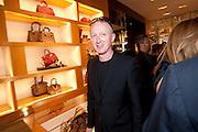 MICHAEL LANDY, Louis Vuitton openingof New Bond Street Maison. London. 25 May 2010. -DO NOT ARCHIVE-© Copyright Photograph by Dafydd Jones. 248 Clapham Rd. London SW9 0PZ. Tel 0207 820 0771. www.dafjones.com.