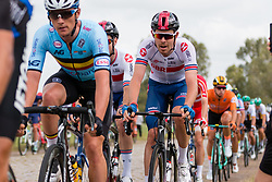 ROWE Luke from GREAT BRITAIN during Men Elite Road Race 2019 UEC European Road Championships, Alkmaar, The Netherlands, 11 August 2019. <br /> <br /> Photo by Pim Nijland / PelotonPhotos.com <br /> <br /> All photos usage must carry mandatory copyright credit (Peloton Photos | Pim Nijland)