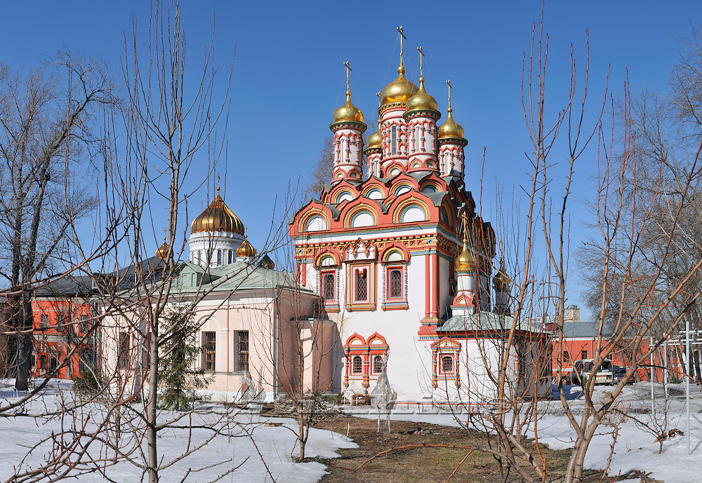 Church of St. Nicholas, Moscow.