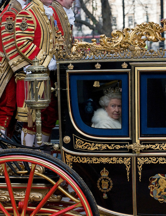 London Dec 3rd HRH Queen Elizabeth II arriving at Westminster today for the annual State Opening of Parliament, London, England 03/12/2008 ...Please telephone : +44 (0)845 0506211 for usage fees .***Licence Fee's Apply To All Image Use***.IMMEDIATE CONFIRMATION OF USAGE REQUIRED.*Unbylined uses will incur an additional discretionary fee!*.XianPix Pictures  Agency  tel +44 (0) 845 050 6211 e-mail sales@xianpix.com www.xianpix.com