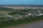 Demerara River<br /> GUYANA<br /> South America<br /> Longest river in Guyana