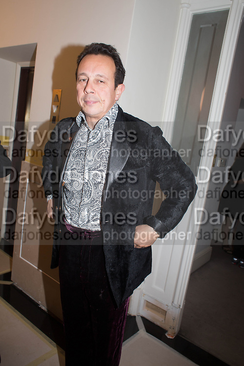 DETMAR BLOW, Valeria Napoleone hosts a dinner at her home in honour of Judith Hopf in cerebration of her new commission at Studio Voltaire. London. 15 October 2013