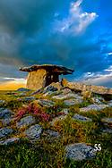 Poulnabrone Dolmen in The Burren
