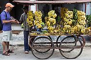 Banana Vendor or Hawker in Kerala