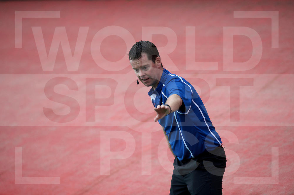 ROTTERDAM - Hock World League Semi Final Men<br /> Ireland v Spain<br /> foto: umpire PULLMAN Tim (AUS).<br /> FFU PRESS AGENCY COPYRIGHT FRANK UIJLENBROEK