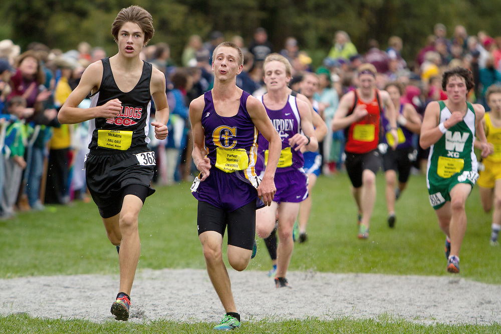 Festival of Champions High School Cross Country meet, James McAuliffe, Hill Dale, Parker Montano, Cheverus