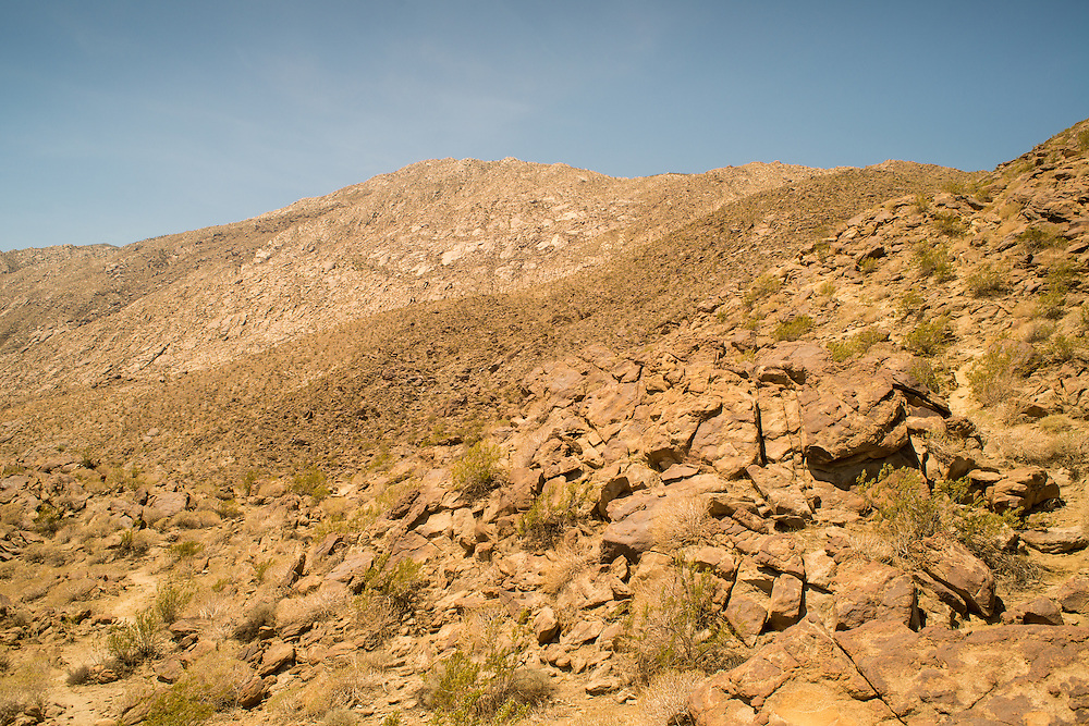 Hills near Palm Springs, California