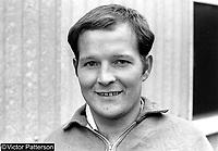 Norman Pavis, footballer, Crusaders FC, Belfast, N Ireland, July, 1967, 196707000009<br /> <br /> Copyright Image from Victor Patterson, 54 Dorchester Park, Belfast, UK, BT9 6RJ<br /> <br /> t: +44 28 9066 1296<br /> m: +44 7802 353836<br /> vm +44 20 8816 7153<br /> <br /> e1: victorpatterson@me.com<br /> e2: victorpatterson@gmail.com<br /> <br /> www.victorpatterson.com<br /> <br /> IMPORTANT: Please see my Terms and Conditions of Use at www.victorpatterson.com