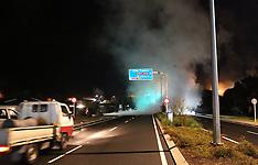 Rotorua-Burst steam pipe blocks main road