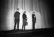 U.N.C.L.E. agents attend the first U.N.C.L.E. Conference and Film Show at the Adelphi Cinema as guests of Smiths Potato Crisps..01.04.1967