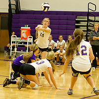 09-23-14 Berryville Jr. High Volleyball vs. Huntsville