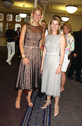 Left to right, LADY GABRIELLA WINDSOR and VISCOUNTESS LINLEY at a charity event 'In The Pink' a night of music and fashion in aid of the Breast Cancer Haven in association with fashion designer Catherine Walker held at the Cadogan Hall, Sloane Terrace, London on 20th June 2005.<br />